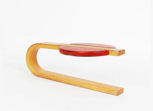 Mondo-Cane-Hukit-Children's-Bounce-Seat-chaise-enfant-vintage--design-danemark-rocket-lulu
