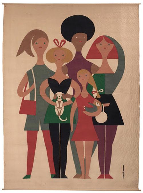 Alexander_Girard_Girls_Tapestry