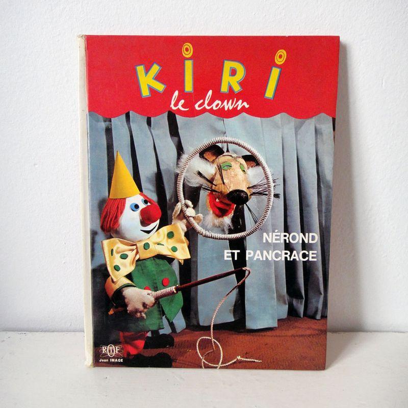 Livre-kiri-le-clown-nerond-et-pancrace-ORTF-vintage-book-jean-image-view1
