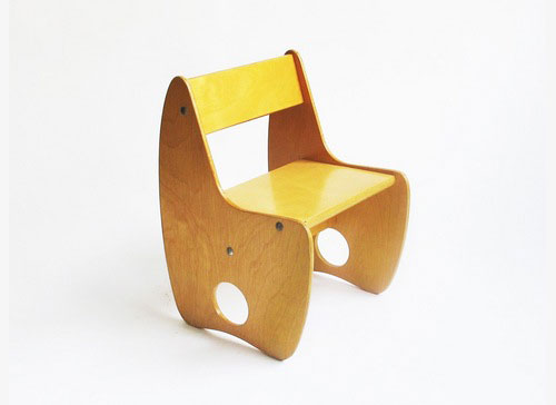 Mondo-Cane-Plywood-Children's-Chair-chaise-enfant-vintage-design-russie-annees-60-rocket-lulu