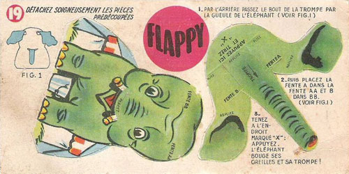 Bon-point-leonard-lille-flappy-elephant-pliage-cirque-1950-rocket-lulu