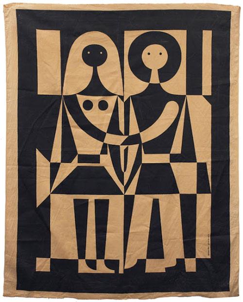 Alexander_Girard_BlackandWhite_Tapestry
