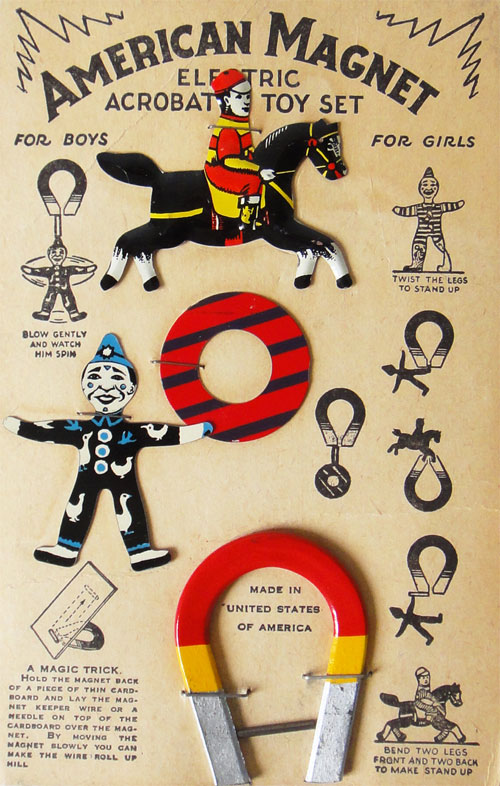 Ancien-jouet-tole-cirque-vintage-magnet-set-circus-tin-toyrocket-lulu