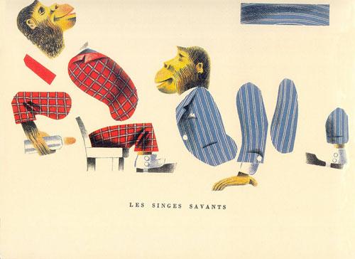 Ancien-album-jeu-pere-castor-cirque-anime-singes-agence-eureka