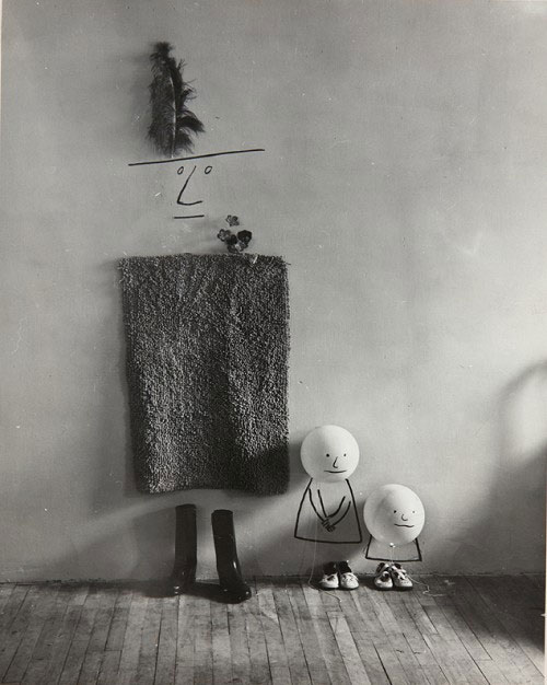 Saul_steinberg_mother_children_1950