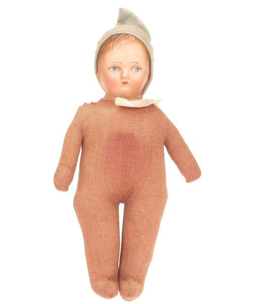 Poupee_chiffon_rouge_vintage_doll