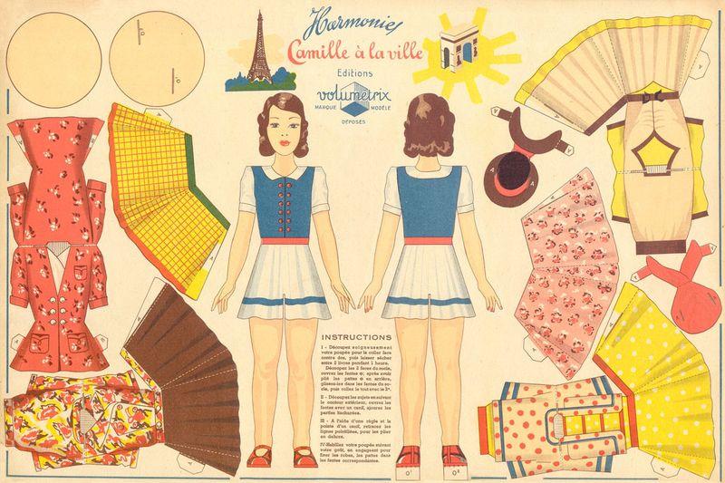 Volumetrix_camille_a_la_ville_vintage_paper_doll_toy