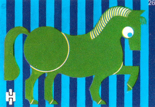 Vintage-enfant-illustration-cheval-zoo-match-label6