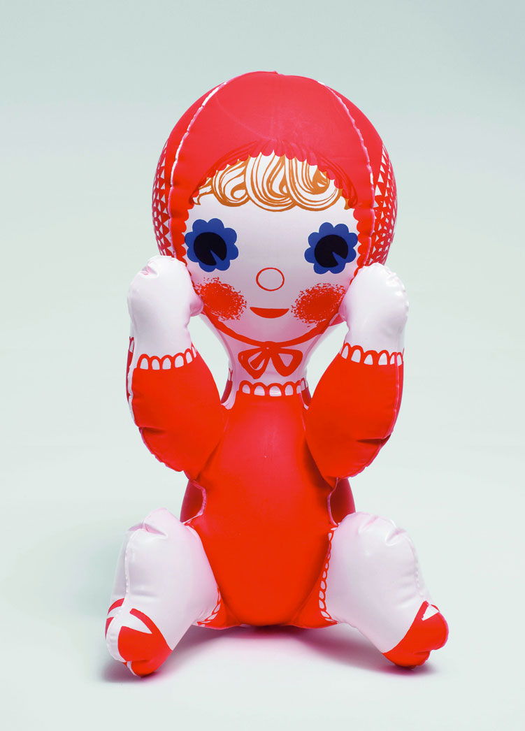 Libuse-Niklova-jouet-gonfle-inflatable-toy-poupee-enfant-vintage-doll-children-kids