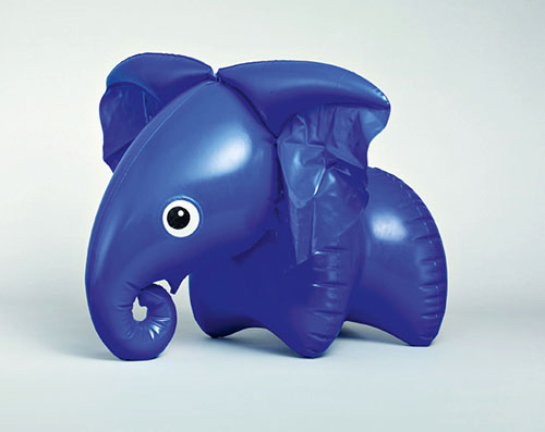 Libuse-Niklova-jouet-gonfle-inflatable-toy-elephant-enfant-vintage-children-kids