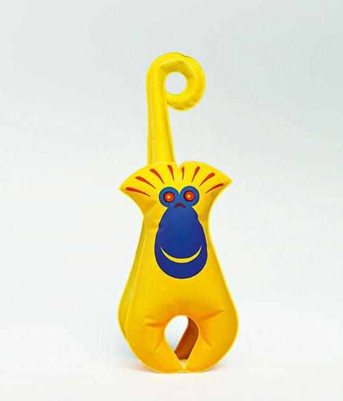 Libuse-Niklova-jouet-gonfle-inflatable-toy-singe-enfant-vintage-children-kids