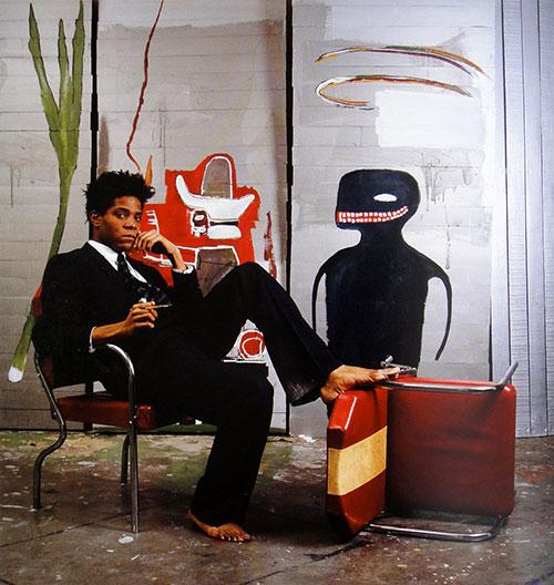 Jean-michel-basquiat-atelier-studio-1985