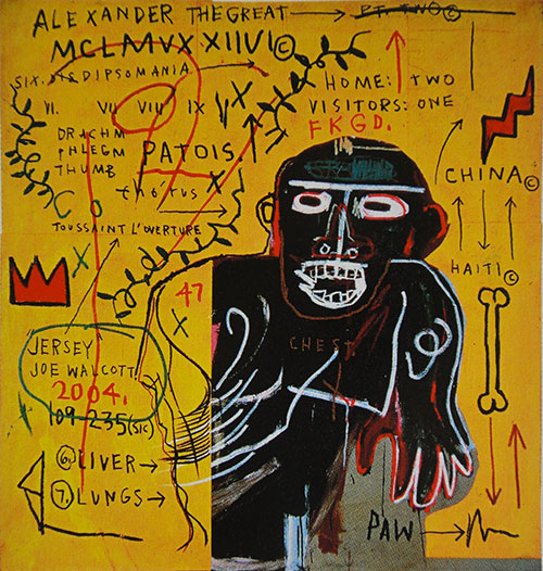 Basquiat-all-colored-cast-part-III-1982-brooklyn-museum