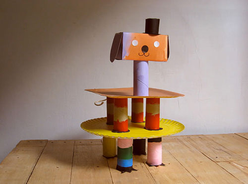 Party-cake-stand-Mis­ako-Mimoko-DIY-recup-upcycling-craft-activite-enfant-kids-rocket-lulu1