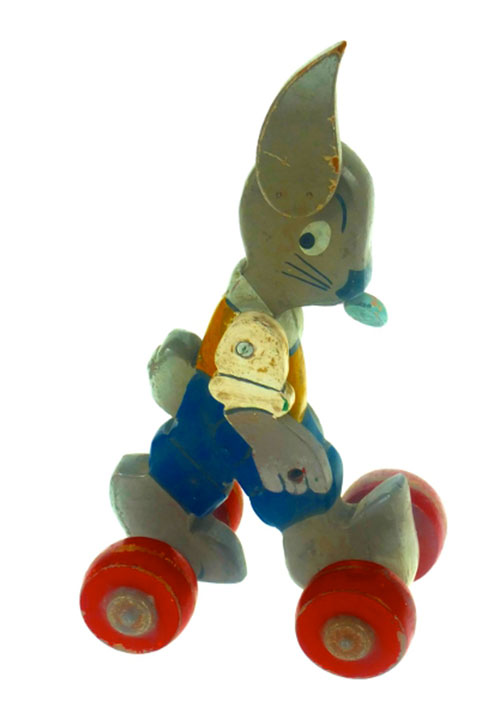 Ancien-jouet-vintage-kids-toy-caramel-pipo-lapin-bois-jean-mockel-1947-8