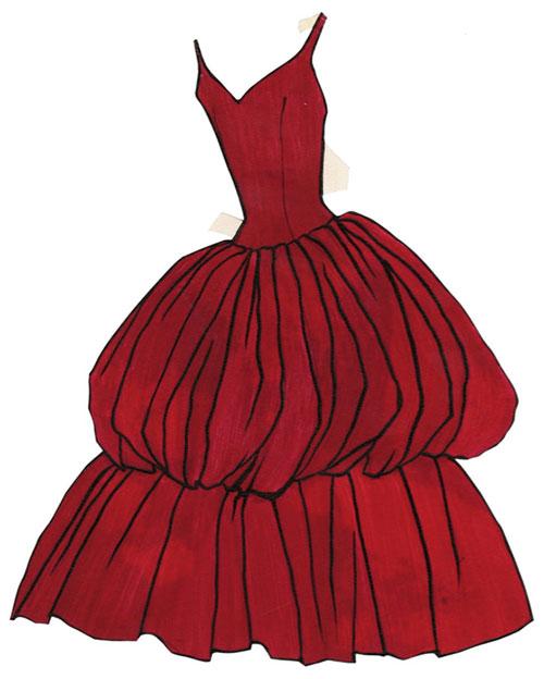 9-robe-Ensorcelante-dress-paper-doll-mode-vintage-fashion-1950s