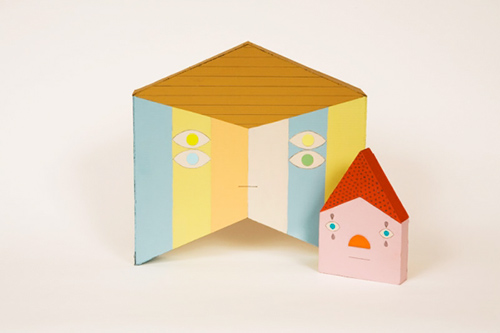 Ana-serrano-caritas-cardboard-sculpture-collage-art