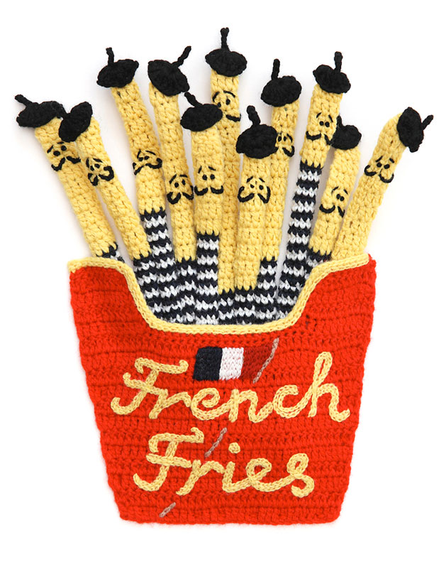 Kate-jenkins-crochet-food-french-fries