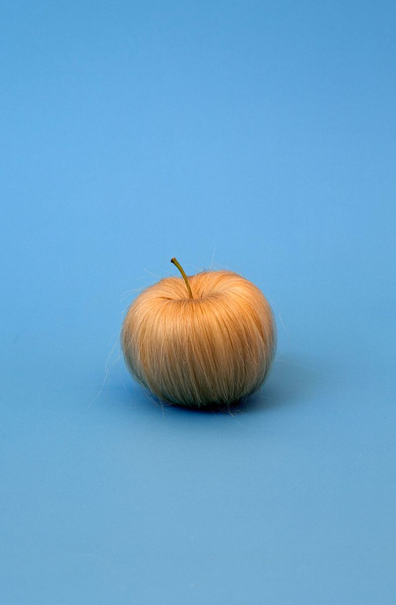 Sarah-illenberger-hairy-apple-litho-paper-print-food-ar