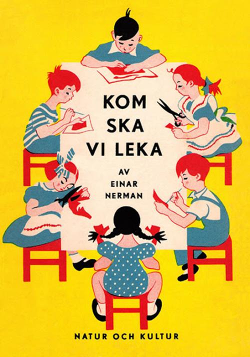 Livre-enfant-einar-nerman-kom-ska-vi-leka-vintage-children-book-rocket-lulu-1