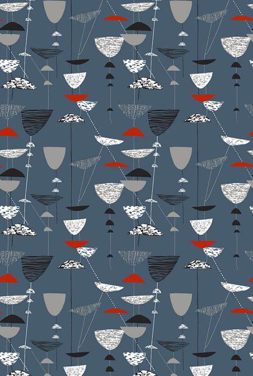 Lucienne-day-calyx-textile-designer-rocket-lulu