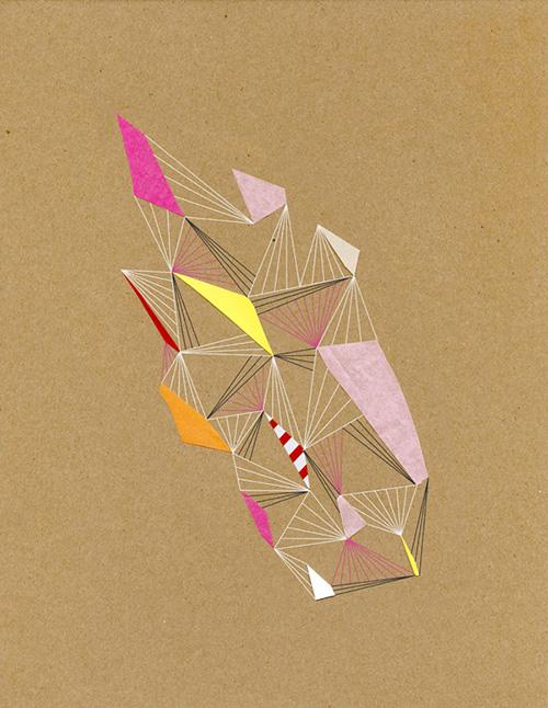 Chad-wys-constellation-8-print-2009-paper-art-rocket-lulu