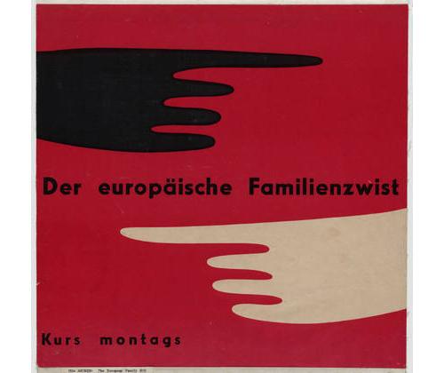 Otl-aicher-der-europäische-familienzwist-1950-graphic-design-rocket-lulu