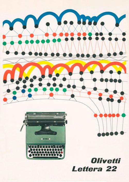 Pub-olivetti-graphisme-pintori-1956-graphic-design-rocket-lulu