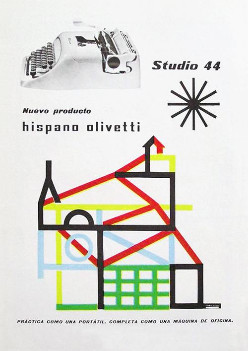Pub-olivetti-graphisme-pintori-studio-44-graphic-design-rocket-lulu