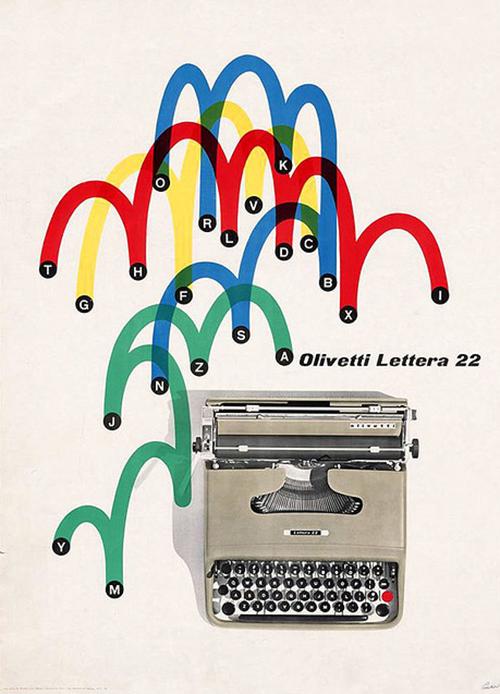 Pub-olivetti-graphisme-pintori-1962-graphic-design-rocket-lulu