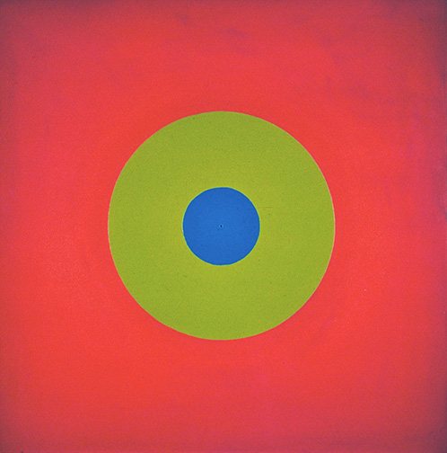 Poul-gernes-cirkler-VI-peinture-abstrait-painting-abstract-1965