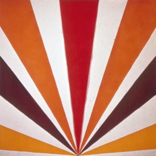 Keneth-noland-art-cadmium-radiance-1961-rocket-lulu