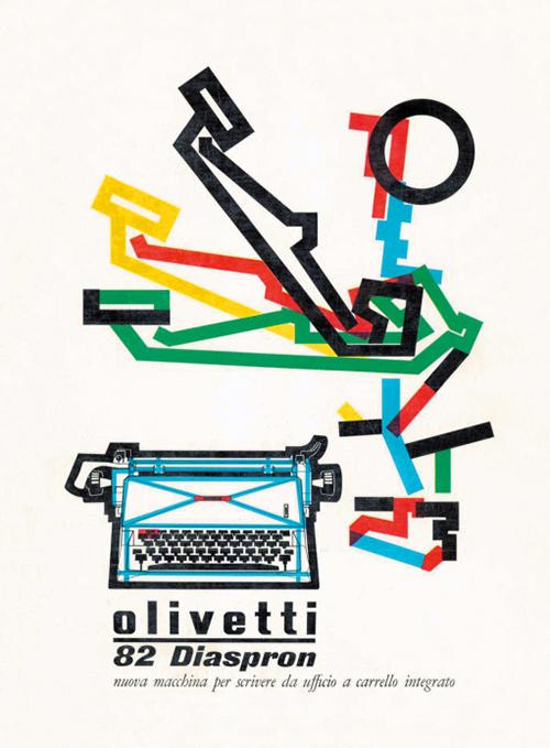 Pub-olivetti-graphisme-pintori-1958-graphic-design-rocket-lulu