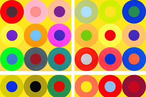 Poul-gernes-peinture-pois-abstrait-dot-painting-abstract-art-rocket-lulu