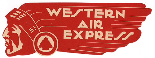 Airlines-us-western-air-express-vintage-luggage-label-ephemera-rocket-lulu