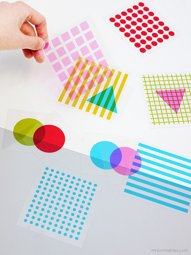Diy-graphisme-mr-printables-shapes-colors-transparency-paper-cards-rocket-lulu1