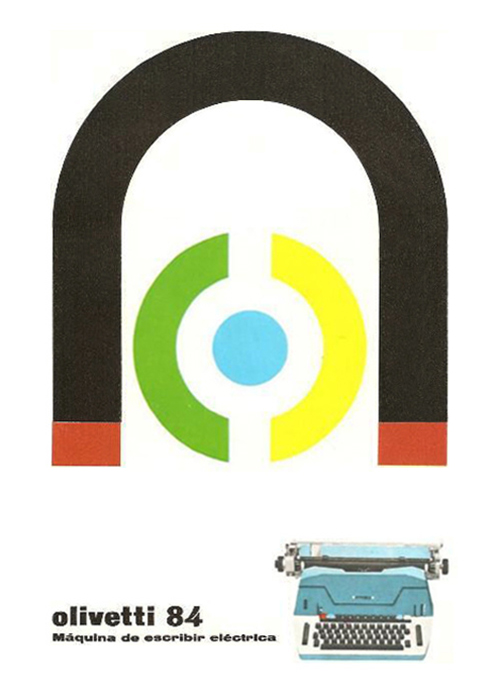 Pub-olivetti-graphisme-pintori-1964-graphic-design-rocket-lulu