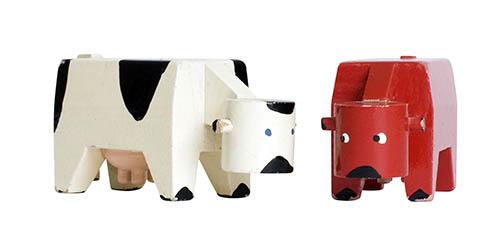 Kay-bojesen-jouet-bois-vaches-cows-danish-design-toy-maison-danemark