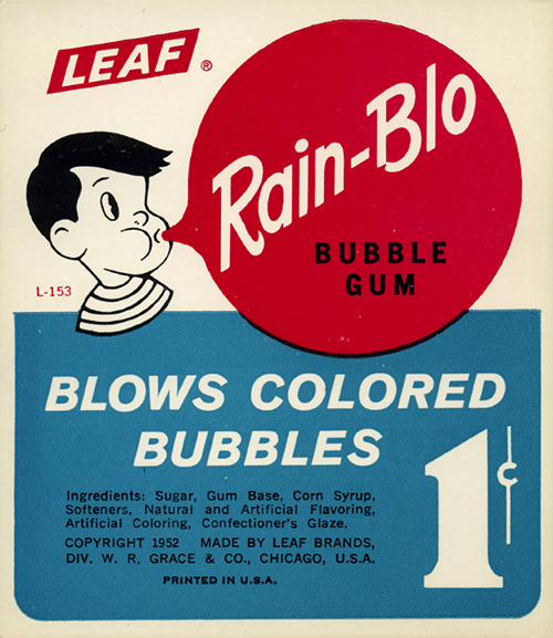 Ancien-packaging-leaf-bubble-gum-rain-blo-vintage-ad-1950-rocket-lulu