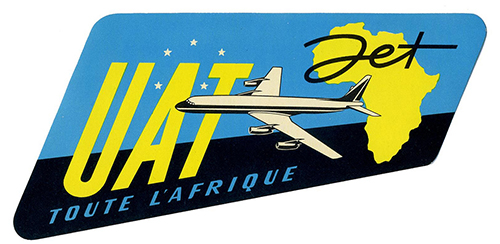Airlines-uat-vintage-luggage-label-ephemera-rocket-lulu