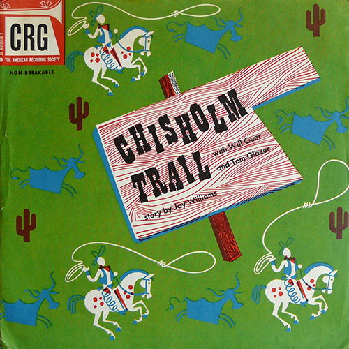 Ancien-disque-enfant-CRG-kids-record-chisholm-trail-rocket-lulu