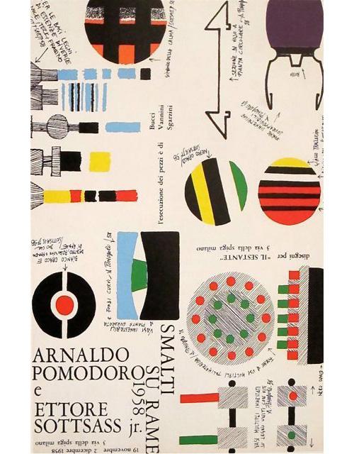 Ettore-eottsass-poster- 1958-graphic-design-rocket-lulu