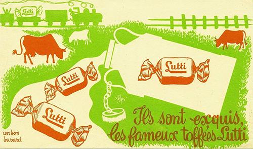 Tofee-lutti-ancien-buvard-vintage-blotting-paper-ad-rocket-lulu