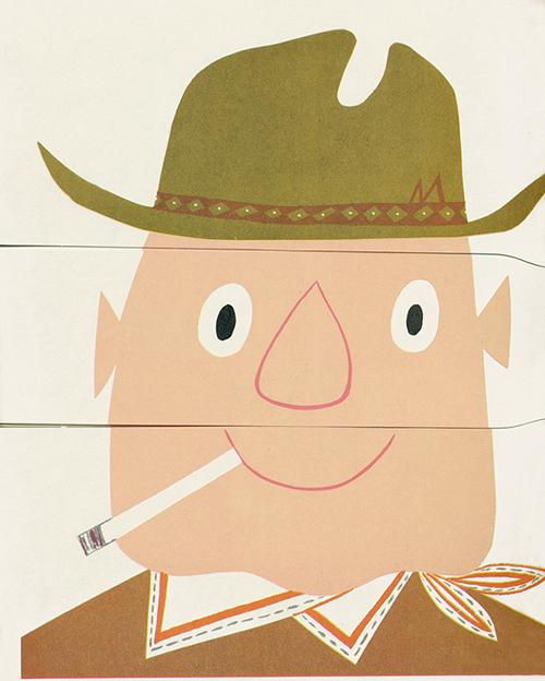 Flip-flop-face-cowboy-paper-game-1957-rocket-lulu5