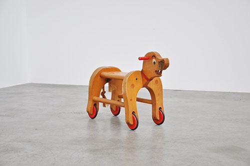 Jouet-vintage-enfant-moderniste-1950-rolling-seal-1950-midmod-kids-design