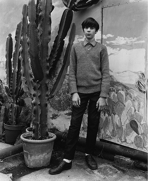John_myers-portrait-Boy_with_cactus-1972-rocket_lulu