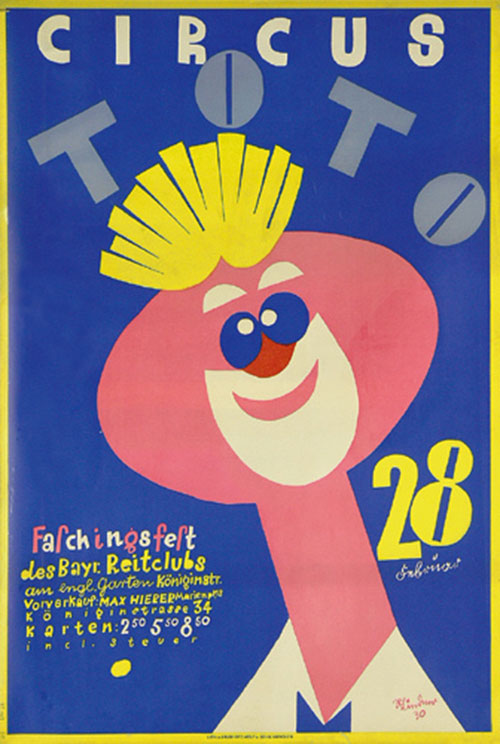 Vintage-poster-circus-toto-richard-lindner-1930