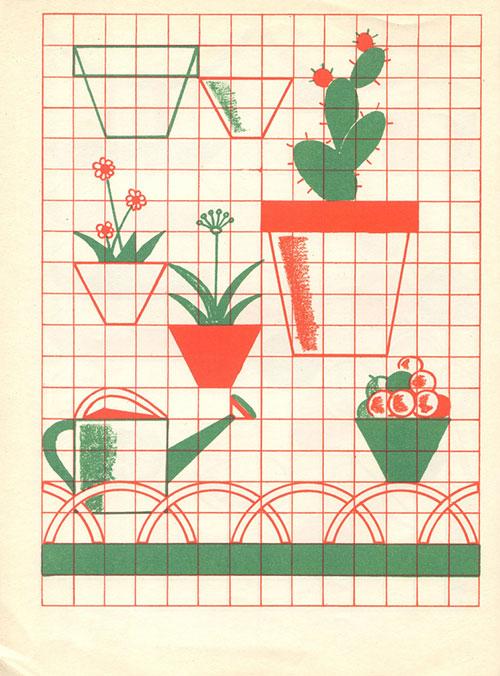 Cactus-cahier-dessin-fernand-nathan-vintage