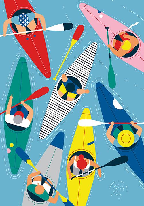Giacomo-bagnara-kayak-club-illustration