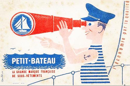 Petit-bateau-ancien-buvard-vintage-blotting-paper-ad-rocket-lulu